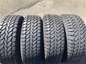 Tyres 245/75/15 General Grabber AT3