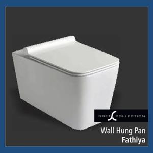 Sanitary : Wall Hung Pan (Fathiya)