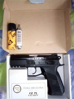 CZ 75 P-07 C02 pistol