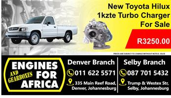 New Toyota Hilux Turbo Charger For Sale