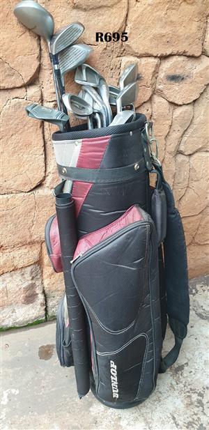 Dunlop Golfbag with 14 Golfclubs
