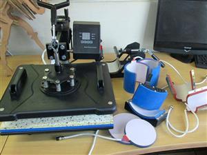 H-PRESS/4060 Heatware 1800W 400x600mm Swing-Away Heavy Duty Flat Press Heat Press Machine