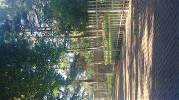 Palisade fencing in Vaal triangle