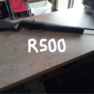 Swart geweer te koop
