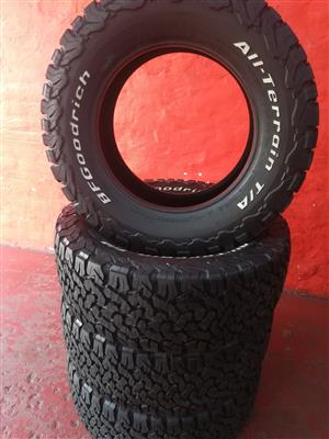bf goodrich tyres for sale 285-60-18