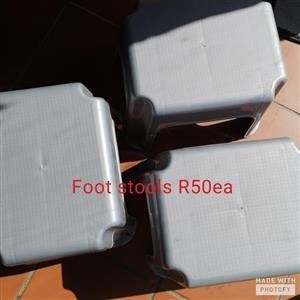 Plastic Foot Stools