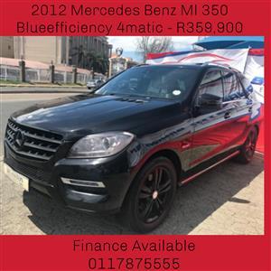 2012 Mercedes Benz ML 350 BlueTec