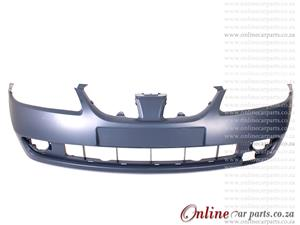 Nissan Almera 1.6 Front Bumper With Fog Light Fog Lamp Holes Primed 2003-2005