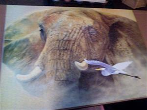 Elephant puzzle for sale