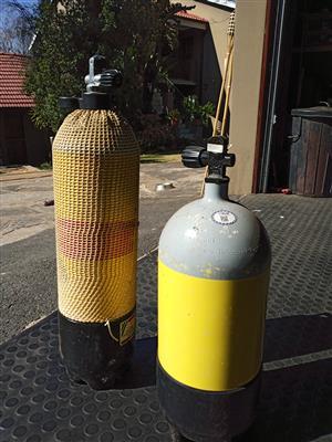 Scuba Dive cylinders