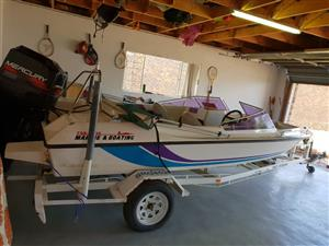 SPEEDBOAT SWIFT 170 BOWRIDER for sale  Edenvale