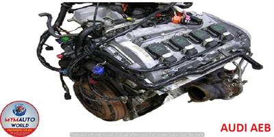 IMPORTED COMPLETE USED 95-03 AUDI A4/A6 1.8L TURBO AEB ENGINES