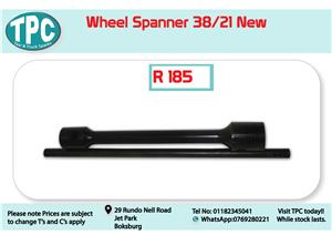 Wheel Spanner 38/21 for Sale at TPC
