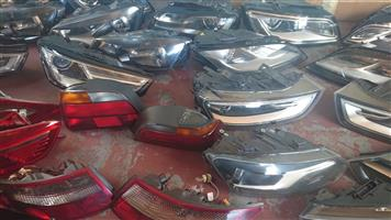Audi Various types of lights
