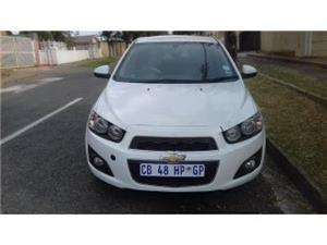 2013 Chevrolet Sonic hatch 1.4T RS