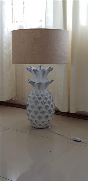 Unique Wood Pineapple Shaped Lamps