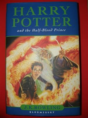 Harry Potter - Hardback With Cover - Book 6 - REF: 2680.