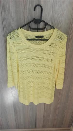 Yellow mesh jersey for sale