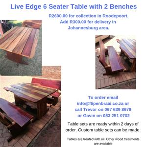 SOLID WOOD PATIO SETS,