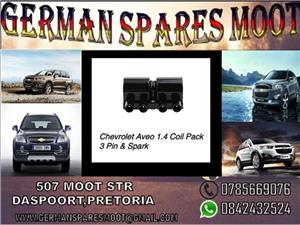 Chevrolet Aveo 1.4 Coil Pack 3 Pin & Spark for sale.