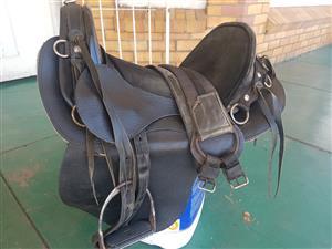 Black Voortrekker Saddle