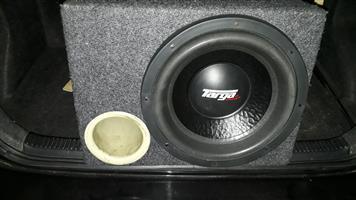 targa sub and amp
