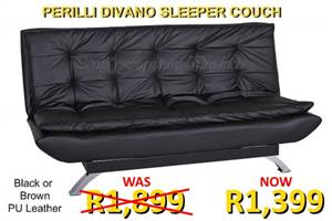 PERILLI DIVANO SLEEPER COUCHES - Now ONLY R1,399 Each!!