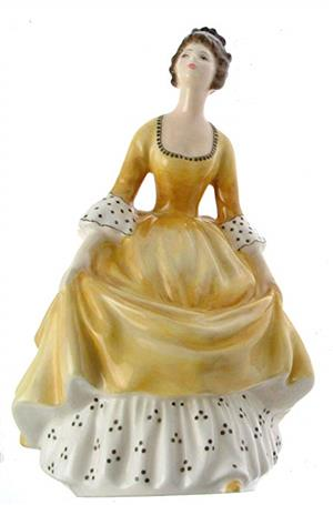 WANTED royal doulton and coalport lady figurines