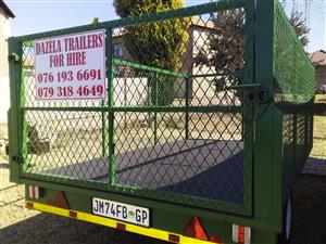 Brand new trailers for hire on Rosslyn