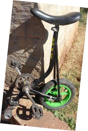 Balance/Clown bicycle