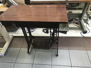 New Treadle and sewing machine