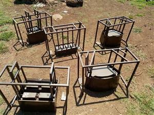 Block mould, retainers mould, brick mould