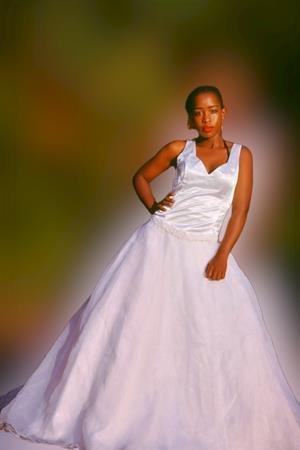 Wedding dress 2piece+veil(Bust 32-34/waist10- 12)