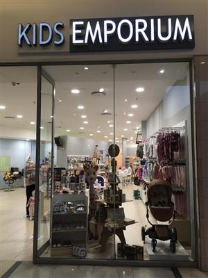 KIDS EMPORIUM FRANCHISE URGENT SALE