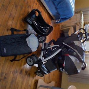 Graco Quattro Tour Deluxe travel system for sale