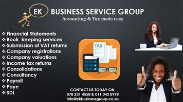 EK BUSINESS SERVICE GROUP