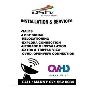 DSTV SALES SERVICES AND INSTALLATION