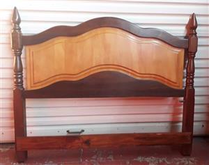 Double bed head board