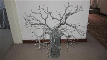 Decorative wired tree