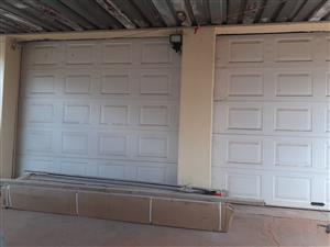 CHROMO GARAGE DOOR WHITE