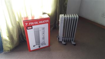 7 FIN OIL HEATER FOR SALE