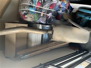 Ford ranger 3.2 exhaust