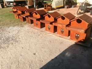 Bat and Owl nesting boxes