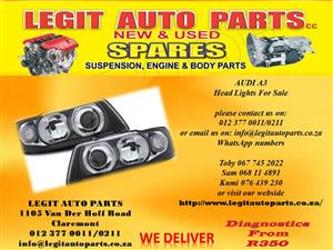 AUDI A3 HEAD LIGHTS FOR SALE