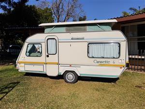 Gypsey Caravette 6 for sale. 1992 Model. Full Tent and Rally Tent.