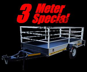 3 Meter Trailer For Sale (March Special)