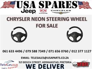 CHRYSLER NEON STEERING WHEEL FOR SALE