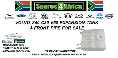 VOLVO S40 C30 V50 EXPANSION TANK FRONT PIPE FOR SALE