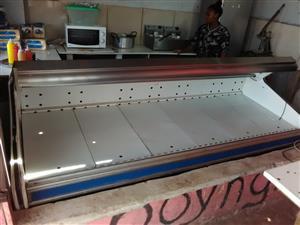 Butchers fridge