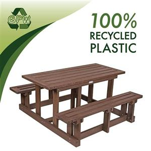 Recycled Plastic Outdoor Furniture for sale
